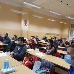 Slika polaznika ITLS tečaja u učionici