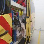Slika unutrašnjosti vozila amsterdamske hitne medicinske službe