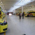 Slika vozila hitne medicinske službe Amsterdam u garaži